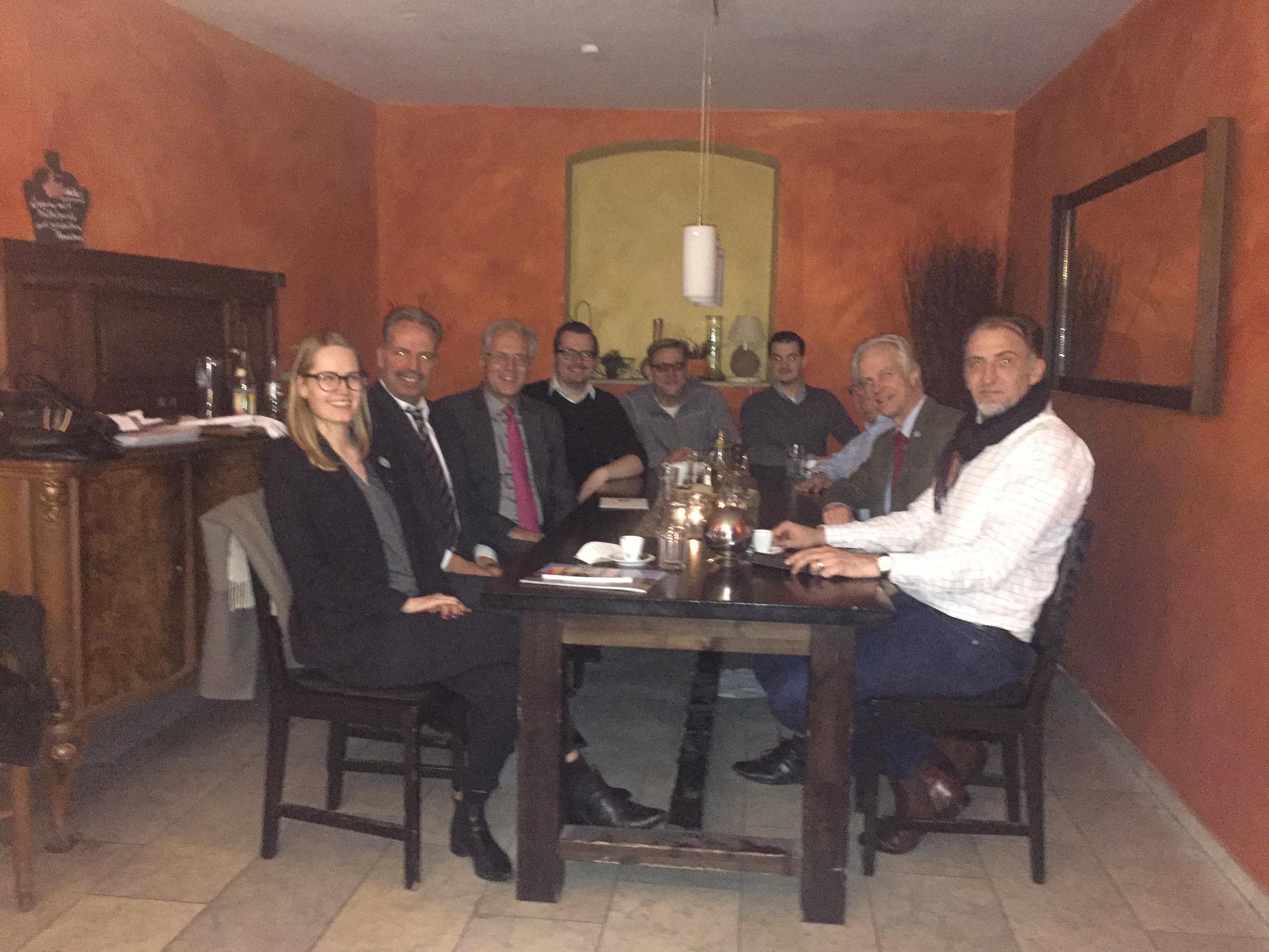 Zu Tisch mit Richard Bartsch